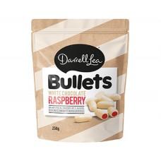 Darrell Lea White Chocolate Raspberry Bullets 250g