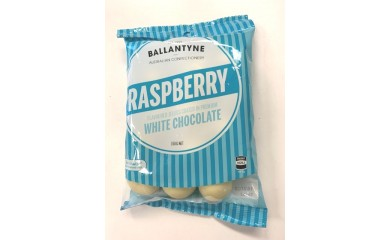 Ballantynes White Chocolate Raspberry Jellies 150g