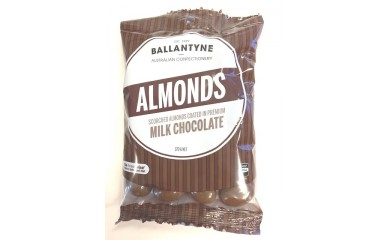 Ballantynes Milk Chocolate Almonds 170g