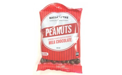 Ballantynes Milk Chocolate Peanuts 180g