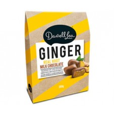 Darrell Lea Milk Chocolate Ginger Gift Box 200g