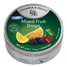 Cavendish & Harvey Sugar Free Mixed Fruit Drops 175g