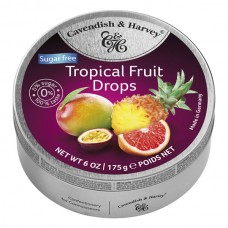 Cavendish & Harvey Sugar Free Tropical Fruit Drops 175g
