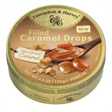 Cavendish & Harvey Caramel with Caramel Fill Drops 130g