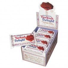 Authentic Chocolate Coated Rose Turkish Delight BarsTwin Pack 55g