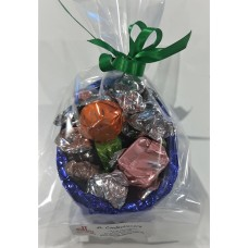 Rocky Road Chocolate Company Dark Chocolate Half Egg-245g