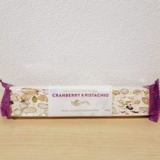 Mondo Cranberry and Pistachio Soft Nougat Bars 165g