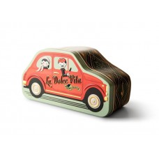Mondo Bambino Car Gift Tin with Assorted Soft Nougat Pieces 150g