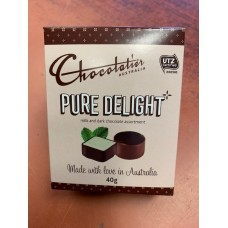 Chocolatier Pure Delight Milk and Dark Chocolate Assortment 40g