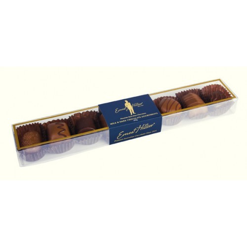 Ernest Hillier Milk & Dark Chocolate Assortment Acetate 100g