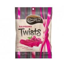 Darrell Lea Raspberry Liquorice Twists 300g
