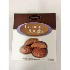 Davies Chocolates Milk Chocolate Coconut Roughs Carton 200g