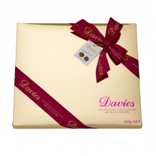 Davies Chocolates Gold Assorted Chocolates Gift Box 550g