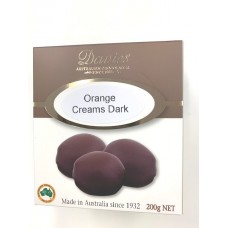 Davies Chocolates Dark Chocolates Orange Cream Carton 200g