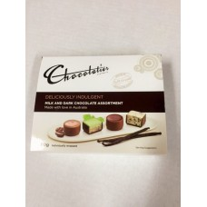 Chocolatier Deliciously Indulgent Milk & Dark Chocolate Assortment Gift Box 80g