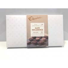 Chocolatier Pure Indulgence Dark Chocolate Decadent White Box 190g